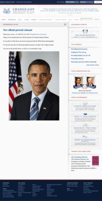 オバマ大統領EXIF付き公式肖像デジタル写真掲載ページ