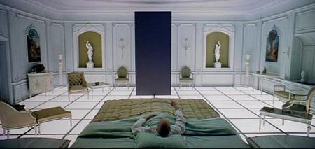 モノリスの寝室