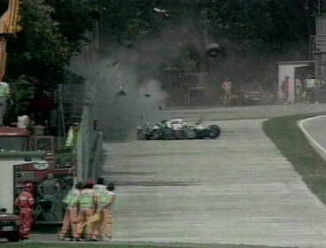 San Marino Grand Prix Crash
