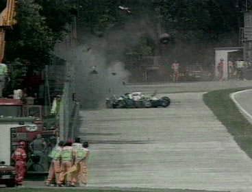 San Marino Grand Prix Crash